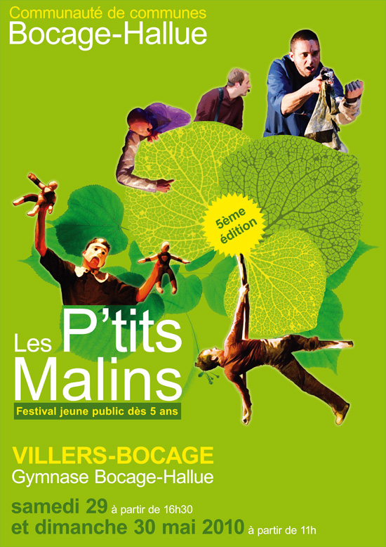 Affiche Festival Les P'tits Malins