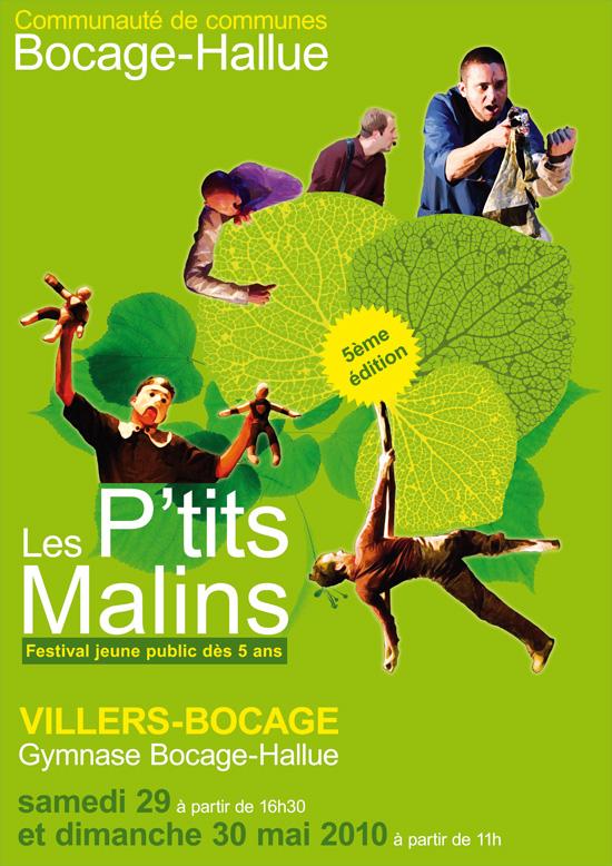 Affiche Festival Les P'tits Malins